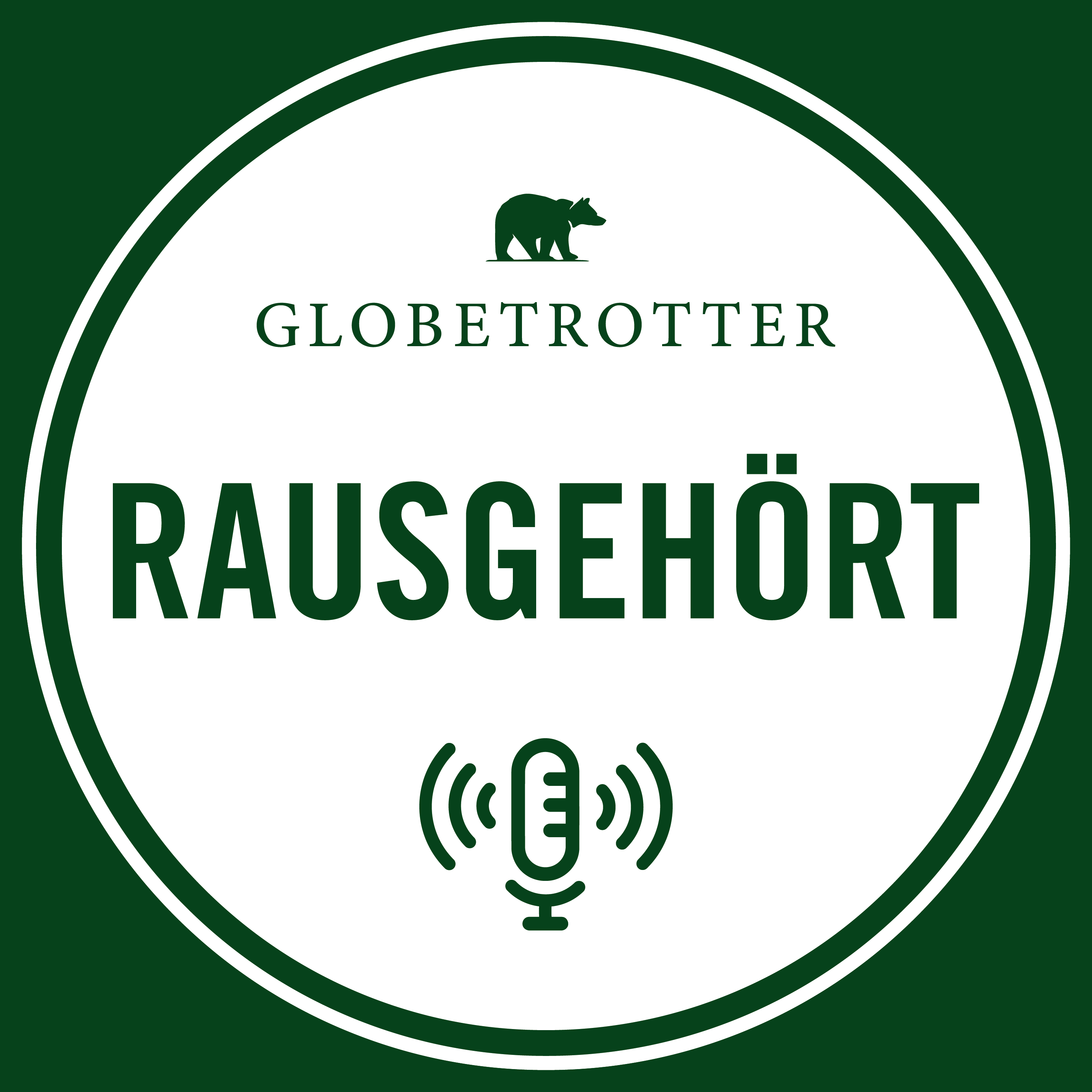 Globetrotter Podcast Rausgehört Cover